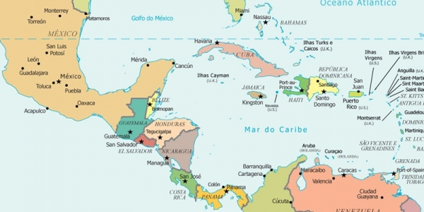 Migración irregular de niños en Centro América