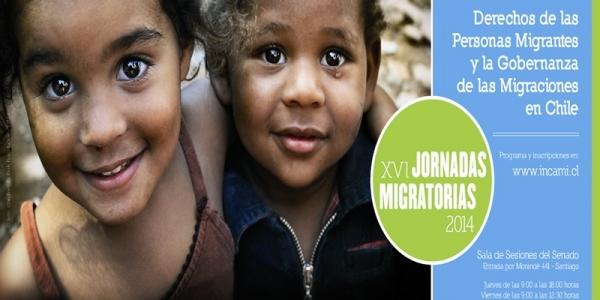 Invitación a participar a la XVI Jornadas Migratorias 2014 en Chile.
