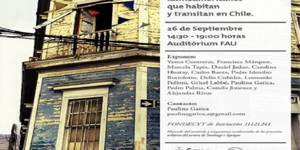 Seminario discute limitación de vivienda y movilidad que tienen migrantes