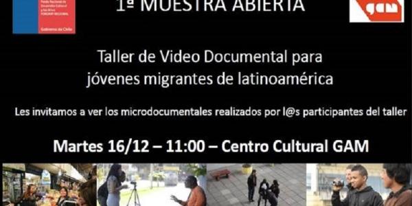 Microdocumentales realizados por migrantes latinoamericanos