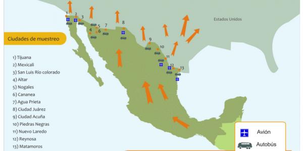 20 temas relevantes sobre la migración en México ante la visita del Papa Francisco