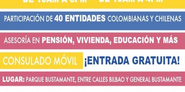 Primera Feria de Servicios para colombianos en Santiago de Chile