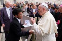 Leer más: Papa Vergoglio y Hna. Neusa