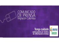 Leer más: Migración Colombia informa posible suplantación de autoridad. Foto: migracioncolombia.gov.co