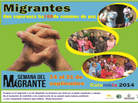 Leer más: Semana del migrante en Colombia, 14 al 21 de sep 2014