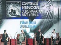 Leer más: Conferencia Internacional sobre Migración, Niñez y Familia. Foto: laprensa.hn