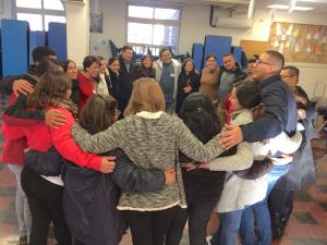 Inmigrantes en la parroquia Nuestra Señora de Lourdes, Maryland, EEUU, en retiro de Adviento 2017. Una esperanza para la Iglesia
