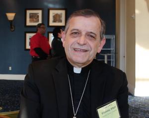 Obispo Eusebio Elizondo, Presidente de la Comisión de Migración, Conferencia Episcopal de EEUU - Foto: Migrantes Hoy, CELAM