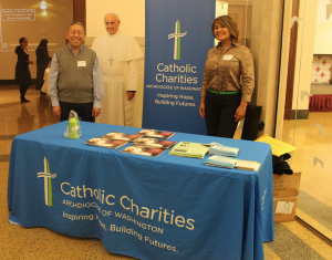 Caridades Católicas en la Arquidiócesis de Washington presente