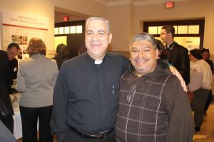 Dos grandes párrocos: P. Agustín Mateo y P. Moisés Villalta