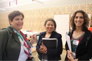 María Hamm, Sonia Marlene Aquino y Ester Brooks, tres líderes de la Comunidad Hispana en Washington