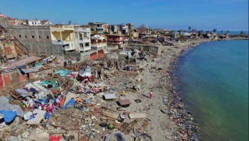 Haiti después del terremoto. Foto: Mundo Ciencia